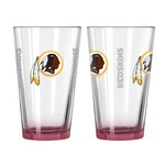 Boelter Brands Washington Redskins Elite 16 oz. Pint Glasses 2-Pack