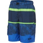 O'Rageous® Men's Abstract Splash E-Board Swim Short