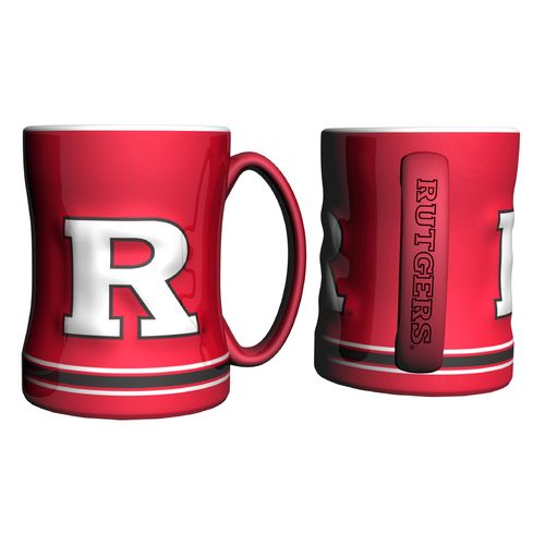 Boelter Brands Rutgers University 14 oz. Relief Mugs 2-Pack