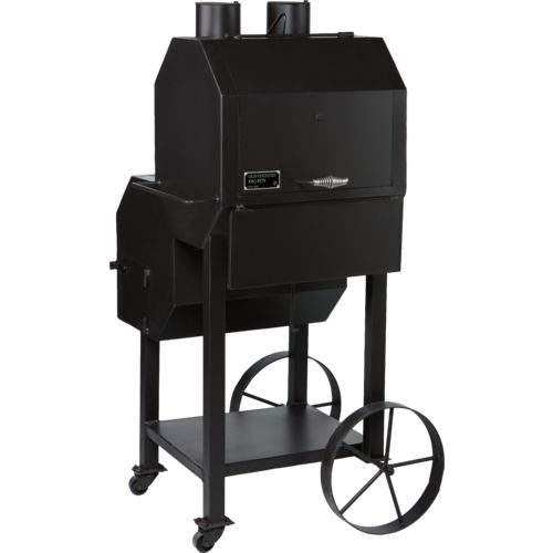 Old Country BBQ Pits Flowmaster Charcoal and Wood Smoker