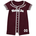 Colosseum Athletics Infants' Mississippi State University Baseball Romper