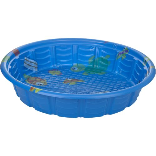 The gallery for kids hard plastic swimming pool for Plastik pool rund