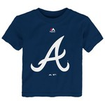 Majestic Toddlers' Atlanta Braves Team Logo T-shirt