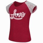Colosseum Athletics Girls' University of Oklahoma All About That Lace T-shirt