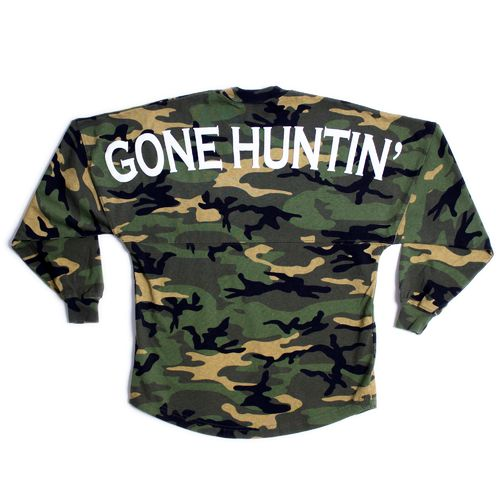 Above Wings™ Adults' Wing Back™ Gone Huntin' Long Sleeve Shirt