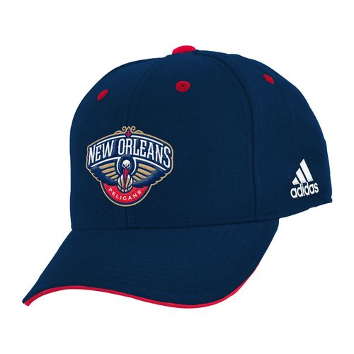 adidas Boys' New Orleans Pelicans Basic Structured Adjustable Cap