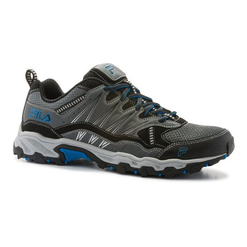 Fila Men's AT Peake Trail Running Shoes (Brown Orange or Grey/Blue)