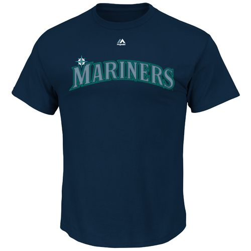 Majestic Men's Seattle Mariners Nelson Cruz #23 Wordmark T-shirt - view number 2
