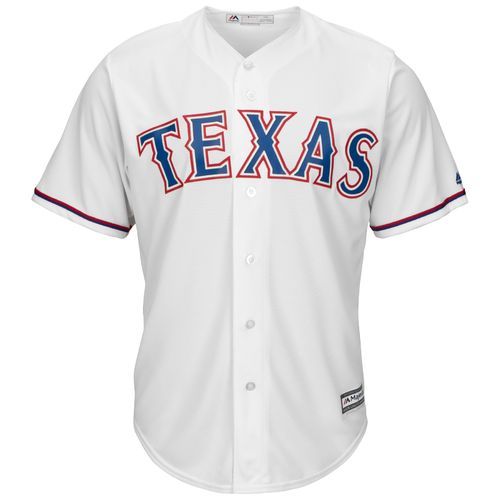 Majestic Men's Texas Rangers Elvis Andrus #1 Cool Base Replica Jersey - view number 2