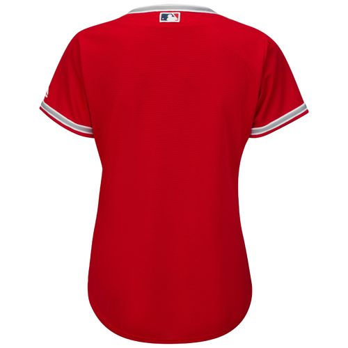 Majestic Women's Los Angeles Angels of Anaheim Cool Base® Replica Alternate Jersey - view number 2