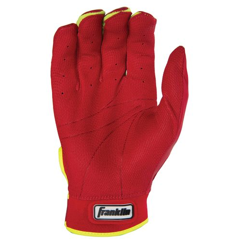 Franklin Adults' David Ortiz CFX Pro Signature Series Batting Gloves - view number 2