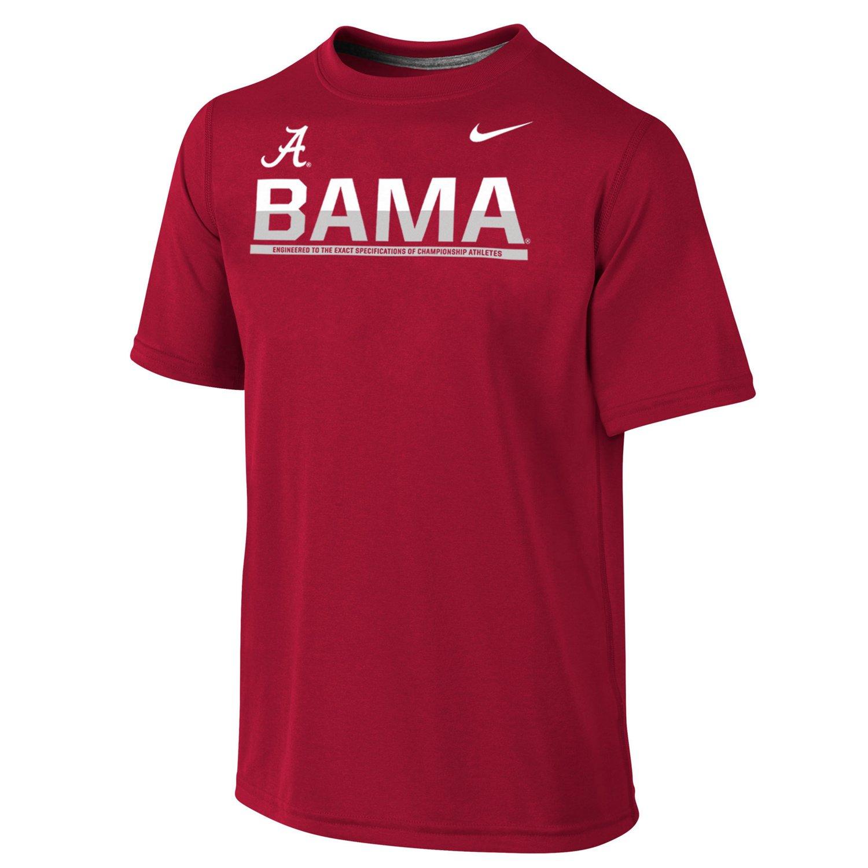 Nike Boys' University of Alabama Dri-FIT Legend Logo