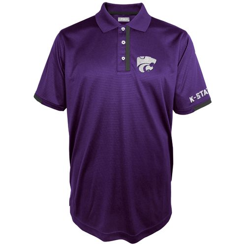 Majestic Men's Kansas State University Section 101 First Down Polo Shirt