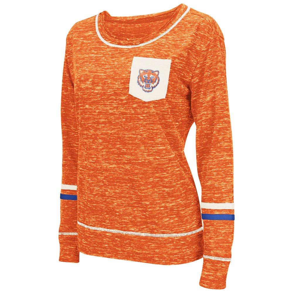 Colosseum Athletics™ Women's Sam Houston State University Homies Raw Edge Pocket T-shirt