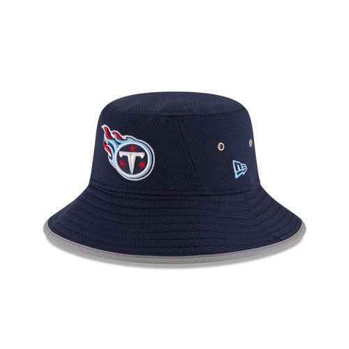 New Era Men's Tennessee Titans Onfield Training Bucket Hat