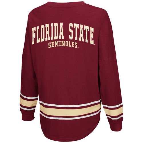 Colosseum Athletics™ Women's Florida State University My Boyfriend Varsity Pullover