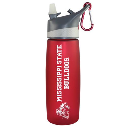 The Fanatic Group Mississippi State University 24 oz. Frosted Sport Water Bottle