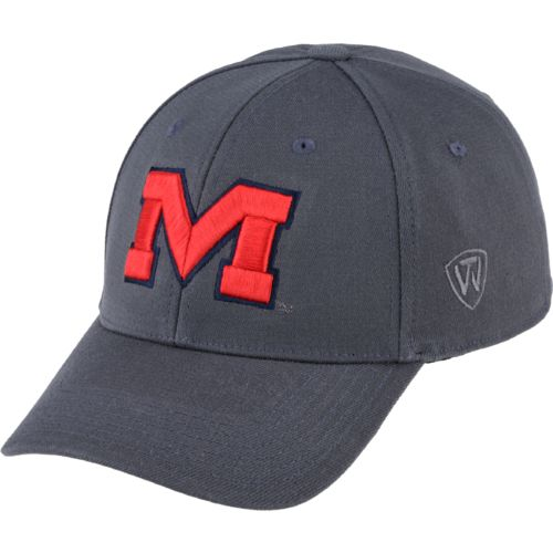 Top of the World Men's University of Mississippi Premium Collection Cap - view number 1