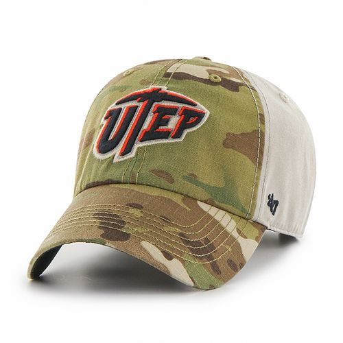 '47 University of Texas at El Paso Sumner Camo Cap
