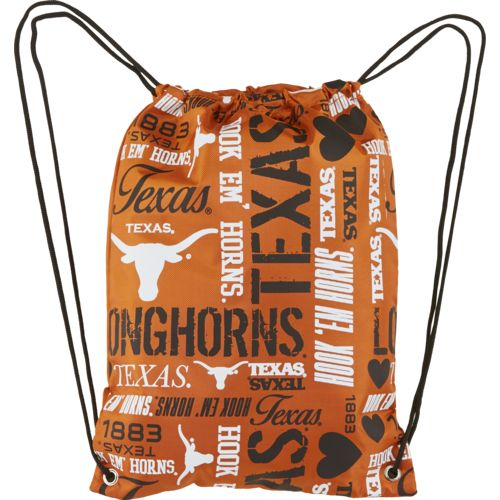 Forever Collectibles™ Women's University of Texas Drawstring Backpack