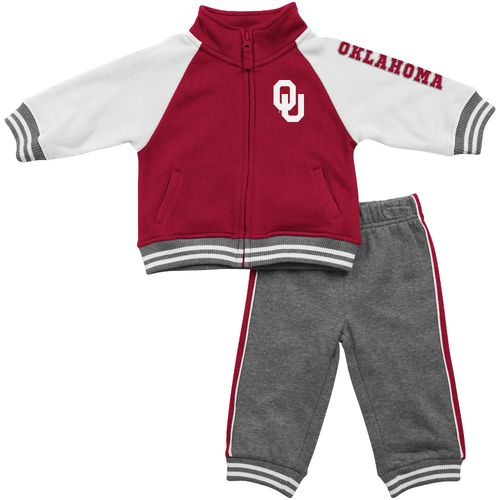 Colosseum Athletics™ Infants'/Toddlers' University of Oklahoma Aviator Fleece Jacket