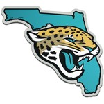 Stockdale Jacksonville Jaguars Acrylic State Shape Auto Emblem - view number 1