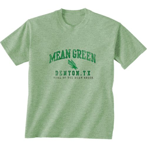 New World Graphics Men's University of North Texas Local Phrase T-shirt
