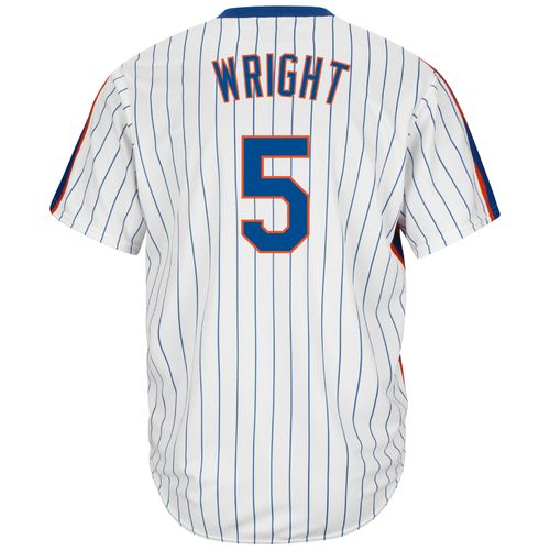 Majestic Men's New York Mets David Wright #5 Cool Base Cooperstown Jersey - view number 1
