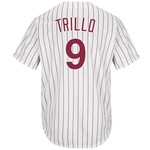 Majestic Men's Philadelphia Phillies Manny Trillo #9 Cool Base Cooperstown Jersey