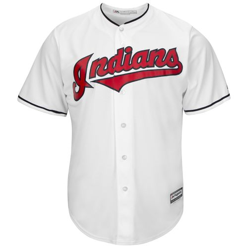 Majestic Men's Cleveland Indians Kenny Lofton #7 Cool Base Replica Jersey - view number 3