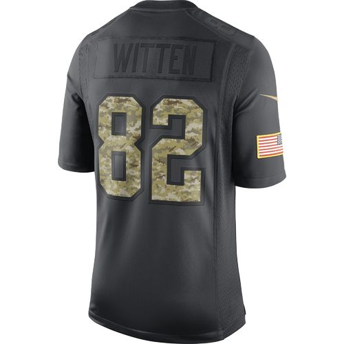 Nike Men's Dallas Cowboys Jason Witten #82 Salute To Service Jersey