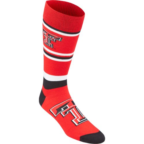 For Bare Feet Men's Texas Tech University Dress Socks