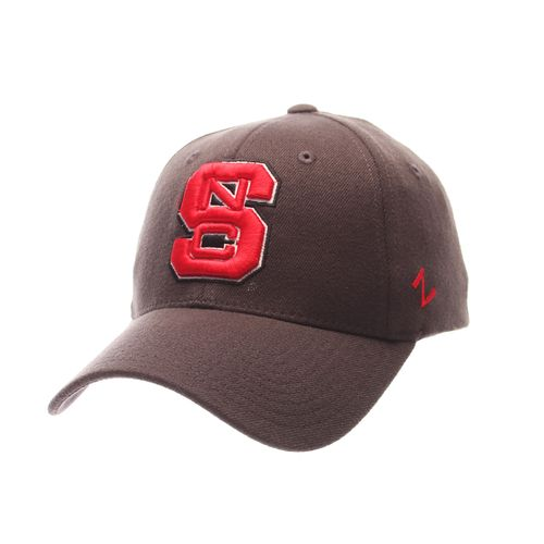 Zephyr Men's North Carolina State University Charcoal Flex Cap
