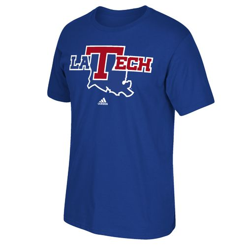 adidas™ Men's Louisiana Tech University Logo T-shirt