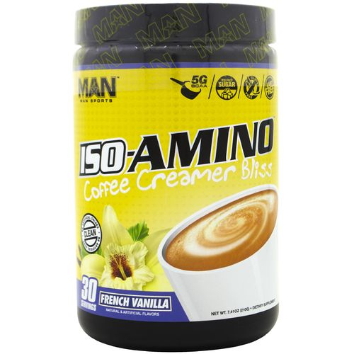 MAN Sports ISO-AMINO French Vanilla Coffee Creamer Bliss