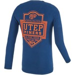 Image One Men's University of Texas at El Paso Finest Shield Comfort Color Long Sleeve T-shirt