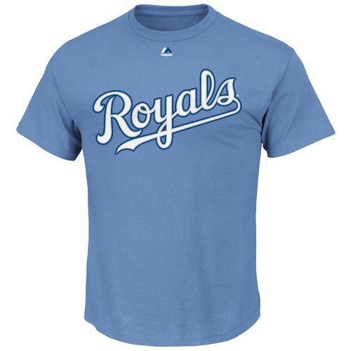 Display product reviews for Majestic Men's Kansas City Royals Official Wordmark T-shirt