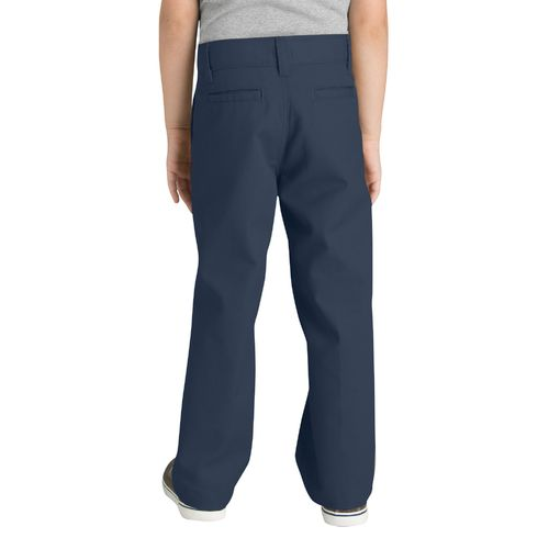 Dickies Boys' Classic Fit Straight Leg Flat Front Pant - view number 2