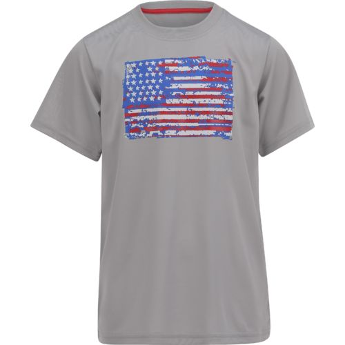 BCG Boys' USA Flag Short Sleeve T-shirt