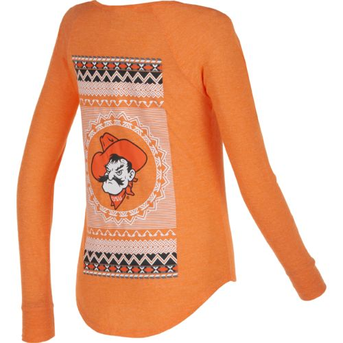Chicka-d Women's Oklahoma State University Favorite V-neck Long
