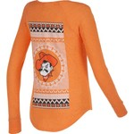 Chicka-d Women's Oklahoma State University Favorite V-neck Long Sleeve T-shirt