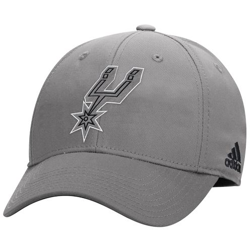 adidas Men's San Antonio Spurs Structured Flex Cap