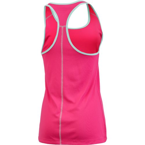 BCG Women's Racerback Solid Tech Tank Top - view number 2