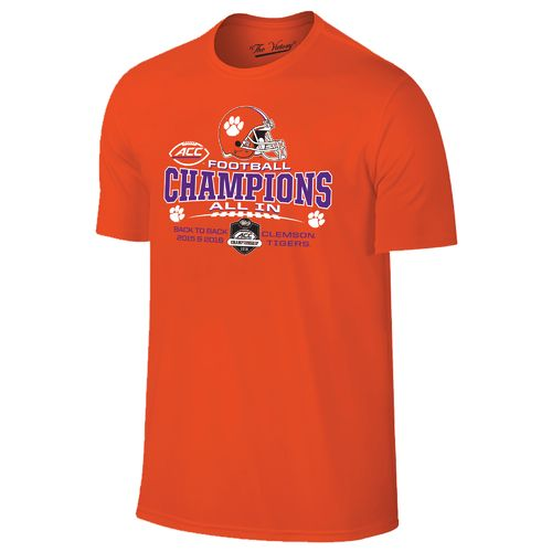 Wildcat Retro Men's Clemson University 2016 ACC Champions Locker Room T-shirt