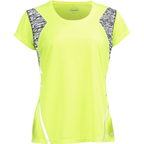 BCG Women's BioViz Short Sleeve V-neck Running Top - view number 1