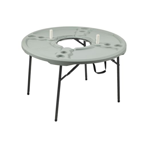 Display product reviews for Academy Sports + Outdoors 4 ft Round Folding Cookout Table