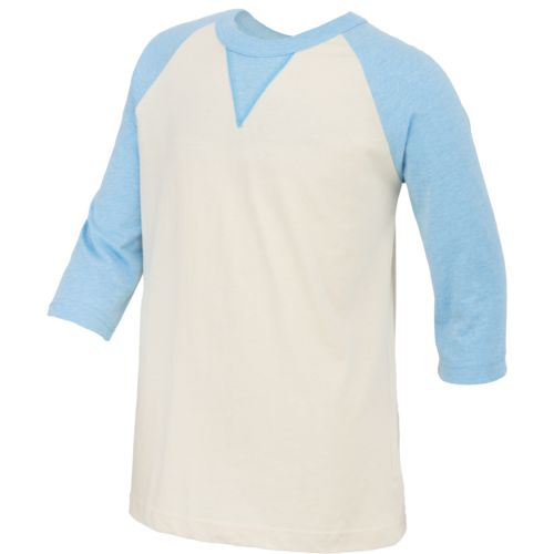 Rawlings Boys' 3/4 Sleeve Heathered Shirt