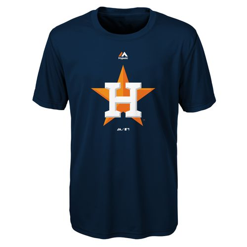 MLB Boys' Houston Astros Primary Logo T-shirt
