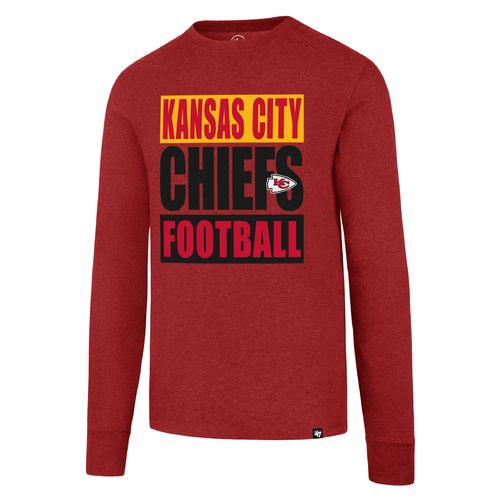 '47 Kansas City Chiefs Triple Stack Football Club Long Sleeve T-shirt