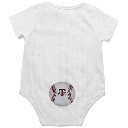Colosseum Athletics™ Infant Boys' Texas A&M University Fastball Onesie - view number 2